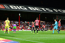 Frank Fielding of Bristol City comes up for a corner - Mandatory by-line: Dougie Allward/JMP - 15/08/2017 - FOOTBALL - Griffin Park - Brentford, England - Brentford v Bristol City - Sky Bet Championship