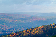 Greenville - A view of the Neversink Valley and Port Jervis as seen from the scenic overlook on Interstate 84 on Oct. 8, 2014.