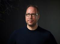 DEU, Deutschland, Germany, Berlin, 17.04.2018: Portrait von Markus Beckedahl, Gründer re:publica, republica Konferenz.