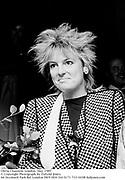 Olivia Channon. London. May 1985<br /> © Copyright Photograph by Dafydd Jones<br /> 66 Stockwell Park Rd. London SW9 0DA Tel 0171 733 0108 dafjones.com