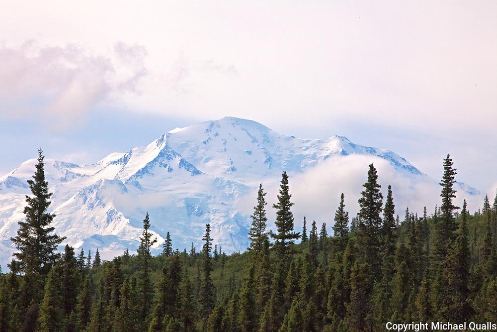 The North Face of Denali from Wonder Lake, Denali NP, Alaska, USA