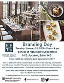 SHL Branding Day - Food for Thought 1/29/19