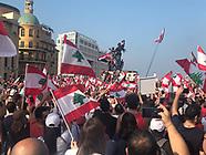 Manifestations historiques au Liban