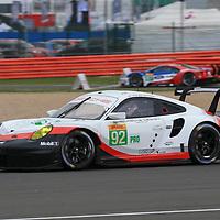 #92, Porsche Motorsport, Porsche 911 RSR (2017), driven by Michael Christensen, Kevin Estre, FIA WEC 2017 6 Hours of Silverstone, Silverstone International Circuit, 14/04/2017,