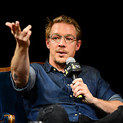 PHILADELPHIA, PA - AUGUST 22:  GRAMMY-winning producer Diplo speaks  on stage during the Up Close & Personal with Diplo Event hosted by The Recording Academy Philadelphia Chapter at The Kimmel Center on August 22, 2016 in Philadelphia, Pennsylvania.  (Photo by Lisa Lake/WireImage for The Recording Academy)