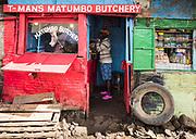 T-Man's Matumbo Butchery, Kibera