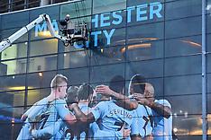 Manchester City win Premier League - Etihad Stadium - 15 April 2018