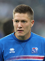 Uefa - World Cup Fifa Russia 2018 Qualifier / <br /> Iceland National Team - Preview Set - <br /> Haukur Heidar Hauksson
