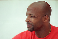 File Photo:  Former England forward Cyrille Regis has died aged 59. <br /> <br /> West Bromwich Albion assistant manager Cyrille Regis ... Soccer - Nationwide League Division One - Barnsley v West Bromwich Albion ... 08-08-1998 ...   ... None ... Photo credit should read: Steve Mitchell/EMPICS Sport. Unique Reference No. 284819 ... Soccer - Division One - Barnsley v West Bromwich Albion<br /> West Bromwich Albion <br /> assistant manager <br /> Cyrille Regis