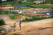 2010-05-31 Abidjan, Cote d'Ivoire. In 2006 chemical waste of the Probo Koala, a ship of Oil company Trafigura was illegally dumped in Abidjan. The site near the village of Djibi still has not been cleared. After the dumping 17 people supposedly have died and tens of thousands have gotten sick of the chemical fumes. There are many reports of people still getting sick near the sites.