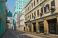 Chine, Macao, Avenida Almeida Ribeiro (San Ma Lo) // China, Macau, Avenida Almeida Ribeiro (San Ma Lo)