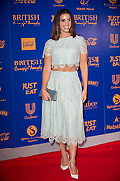 Shanie Ryan at  the British Curry Awards, at Evolution Battersea park London.
