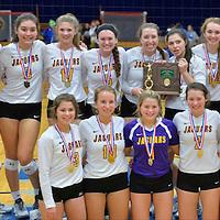 10.29.2015 Avon vs St. Joseph Academy Varsity Volleyball