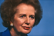 Margaret Thatcher returns to the Conservative conference a year after being deposed by her own party colleagues, Blackpool.  .