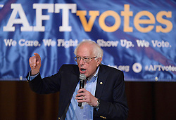 """May 2, 2019 - OH, USA - Progressive Democrats have rallied around """"Medicare-for-all,"""" a single-payer health plan popularized by Sen. Bernie Sanders, I-Vt. (Credit Image: © TNS via ZUMA Wire)"""