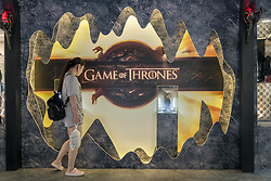 August 2, 2017 - Shanghai, Shanghai, China - Shanghai, CHINA-August 2 2017: (EDITORIAL USE ONLY. CHINA OUT) ..The exhibition of HBO series 'Game of Thrones' is held at a shopping mall in Shanghai, August 2nd, 2017. The exhibition is officially approved by HBO and will last until August 13th, 2017. (Credit Image: © SIPA Asia via ZUMA Wire)