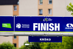 The finish of the Krsko during 3rd Stage of 27th Tour of Slovenia 2021 cycling race between Brezice and Krsko (165,8 km), on June 11, 2021 in Slovenia. Photo by Matic Klansek Velej / Sportida