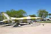 F16N Fighting Falcon at the  Palm Springs Air Museum