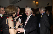 Norman Lamont, Olga Polizzi and Rocco Forte host a party to celebrate the re-opening of Brown's Hotel  after a  £19 million renovation. Albermarle St. London. 12 December 2005. ONE TIME USE ONLY - DO NOT ARCHIVE  © Copyright Photograph by Dafydd Jones 66 Stockwell Park Rd. London SW9 0DA Tel 020 7733 0108 www.dafjones.com