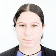 Sharifa Khedr Qassem a 27 year old Yazidi from Siba Sheikh Khidir, northern Iraq.<br /> <br /> <br /> This is a series of portraits of Yazidi refugees who were stranded since April 2016 in Greece.  All of them survived the Yazidi Genocide by ISIS in August 2014 and most of them have lost family members.