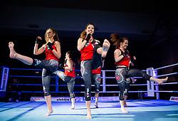 Top ten Cheerleaders during Dejan Zavec Boxing Gala event in Laško, on April 21, 2017 in Thermana Lasko, Slovenia. Photo by Vid Ponikvar / Sportida