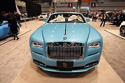 11 February 2016:  Rolls Royce Dawn.<br /> <br /> First staged in 1901, the Chicago Auto Show is the largest auto show in North America and has been held more times than any other auto exposition on the continent.  It has been  presented by the Chicago Automobile Trade Association (CATA) since 1935.  It is held at McCormick Place, Chicago Illinois<br /> #CAS16