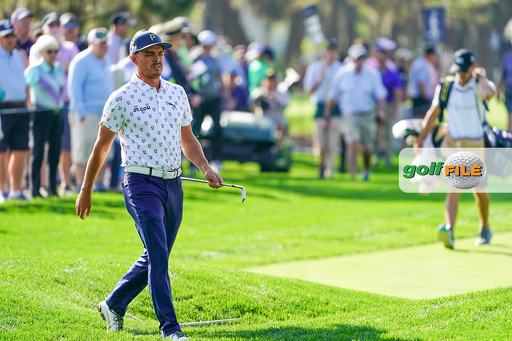 Rickie Fowler (USA) during Round 1 of the Players Championship, TPC Sawgrass, Ponte Vedra Beach, Florida, USA. 12/03/2020<br /> Picture: Golffile | Fran Caffrey<br /> <br /> <br /> All photo usage must carry mandatory copyright credit (© Golffile | Fran Caffrey)