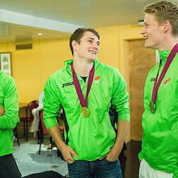 20150713: SLO, Athletics - Arrival SLO team from European Athletics U23 Championships in Tallinn