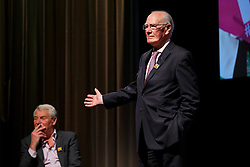 © Licensed to London News Pictures. 07/06/2016. London, UK. Former Liberal Democrat leaders PADDY ASHDOWN and MENZIES CAMPBELL taking part at a Q&A session on EU referendum with Tim Farron and Nick Clegg in central London on 7 June 2016. Photo credit: Tolga Akmen/LNP