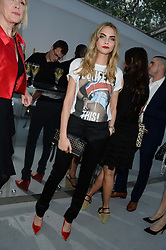 CARA DELEVINGNE at the Glamour Women of the Year Awards in association with Pandora held in Berkeley Square Gardens, London on 4th June 2013.
