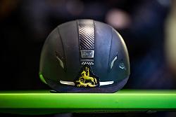 Helmet<br /> Nationaal Indoor Kampioenschap Pony's LRV <br /> Oud Heverlee 2019<br /> © Hippo Foto - Dirk Caremans<br /> 09/03/2019