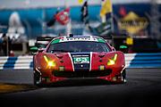 January 21-24, 2021. IMSA Weathertech Series. ROAR before Daytona. Qualifying race:  #63 Scuderia Corsa Ferrari 488 GT3, GTD: Ryan Briscoe, Marcos Gomes,  Ed Jones, Bret Curtis