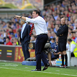 Cardiff City Manager, Malky Mackay  - Photo mandatory by-line: Joe Meredith/JMP - Tel: Mobile: 07966 386802 25/08/2013 - SPORT - FOOTBALL - Cardiff City Stadium - Cardiff -  Cardiff City V Manchester City - Barclays Premier League