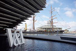 The V&A Dundee, which is adjacent to the Discovery explorer ship on the city's waterfront, was launched to the media. pic copyright Terry Murden @edinburghelitemedia