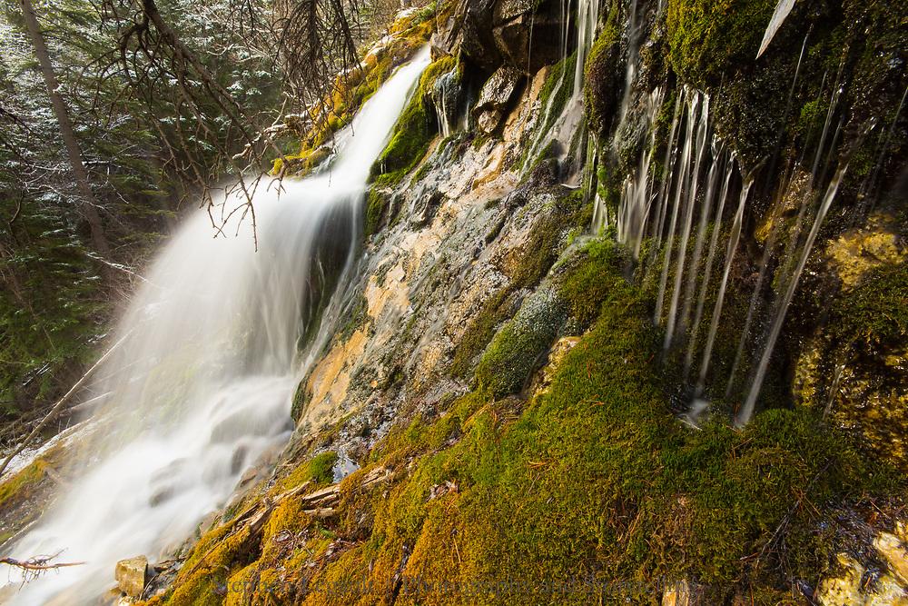 Canmore Creek below Grassi Lakes,  Canmore, Alberta