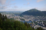 Bergen, Norway Elevated view Viewed from Mount Floyen