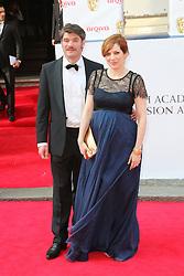 © Licensed to London News Pictures. 18/05/2014, UK. Katherine Parkinson, Arqiva British Academy Television Awards - BAFTA, Theatre Royal Drury Lane, London UK, 18 May 2014. Photo credit : Richard Goldschmidt/Piqtured/LNP