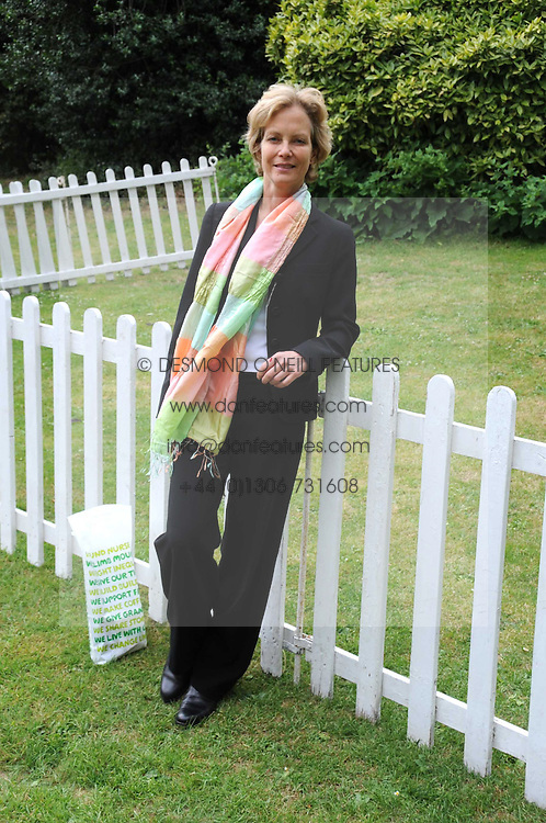 JENNY SEAGROVE at the Macmillan Dog Day in aid of Macmillan Cancer Support held at the Royal Hospital Chelsea, London on 8th July 2008.<br /><br />NON EXCLUSIVE - WORLD RIGHTS