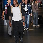 NLD/Schiphol/20120706 - Amerikaans supermodel tyson beckford komt aan op Schiphol
