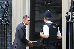 Downing Street, London, September 9th 2016.  Chief Whip (Parliamentary Secretary to the Treasury) Gavin Williamson arrives at Downing street for the weekly cabinet meeting following the Parliamentary summer recess.