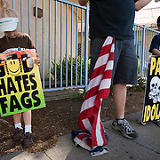 Westboro Baptist Church photographed for the Southern Poverty Law Center.