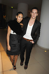 JONATHAN RHYS MEYERS and REENA HAMMER at 'Not Another Burns Night' in association with CLIC Sargebt and Children's Hospice Association Scotland held at ST.Martins Lane Hotel, London on 3rd March 2008.<br /><br />NON EXCLUSIVE - WORLD RIGHTS