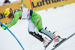 """Stefan Hadalin (SLO) competes during 1st Run of FIS Alpine Ski World Cup 2017/18 Men's Slalom race named """"Snow Queen Trophy 2018"""", on January 4, 2018 in Course Crveni Spust at Sljeme hill, Zagreb, Croatia. Photo by Vid Ponikvar / Sportida"""