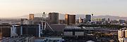 Panoramic view of the Las Vegas Strip, NV, USA