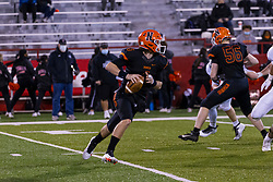 19 March 2021: Normal Community Ironmen host Normal Community West Wildcats at Hancock Stadium for the annual boys football game dubbed the Chili Bowl
