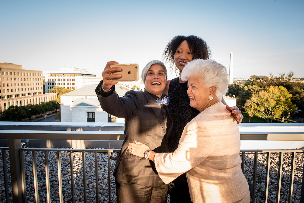 Ingrid Duran and Catherine Pino get married by Justice Sonia Sotomayor in Washingotn D.C., Ocober 10, 2015. Photo Ken Cedeno