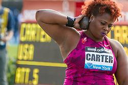 Michelle Carter, women's shot put, adidas Grand Prix Diamond League track and field meet
