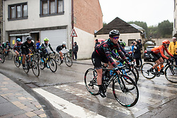 Alice Barnes (GBR) of CANYON//SRAM Racing reaches Houffalize during the Liege-Bastogne-Liege Femmes - a 138.5 km road race, between Bastogne and Liege on April 28, 2019, in Wallonie, Belgium. (Photo by Balint Hamvas/Velofocus.com)