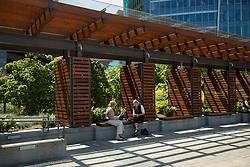 United States, Washington, Bellevue, Bellevue City Hall plaza