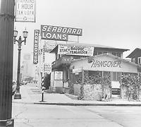 1961 Hangover Restaurant on Vine St.
